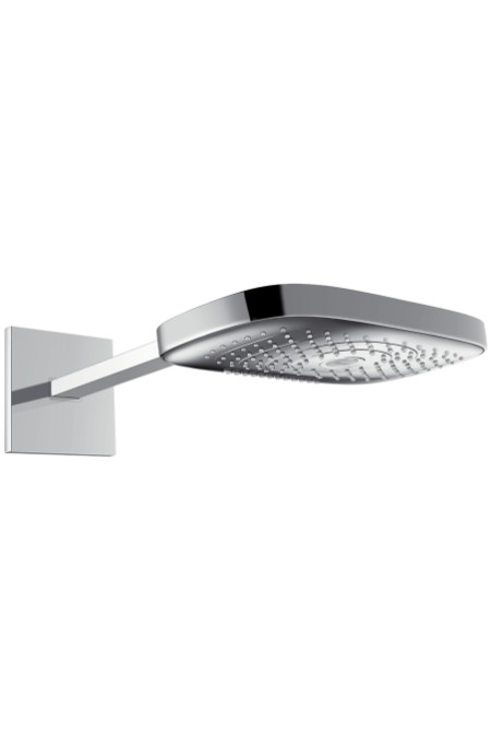 Верхний душ 300 3jet с держателем 390 мм Hansgrohe Raindance Select E 26468