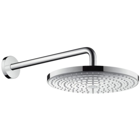 Верхний душ 300 2jet с держателем 390 мм, ½' Hansgrohe Raindance Select S 27378000